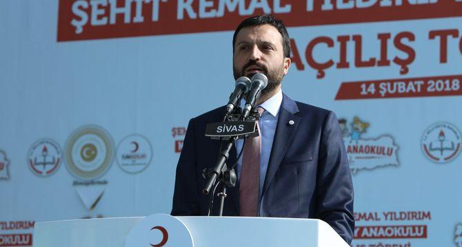 "Suşehri de ""Kızılay Anaokulu""na Kavuştu"