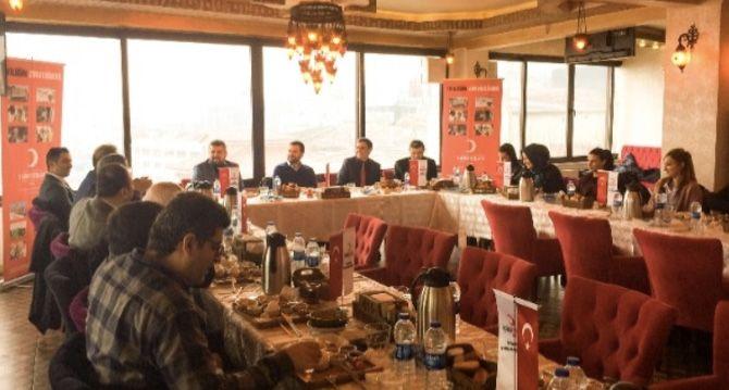 Türk Kızılayı İstanbul Şube Başkanlığı Basın Danışmanları Platformunu Ağırladı
